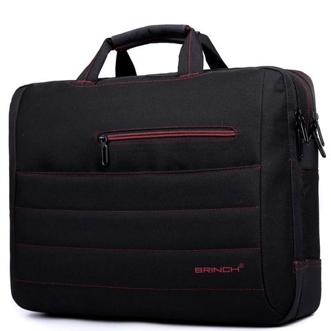 """Сумка для ноутбука Brinch BW-214 Черный + Красный 17"""""""