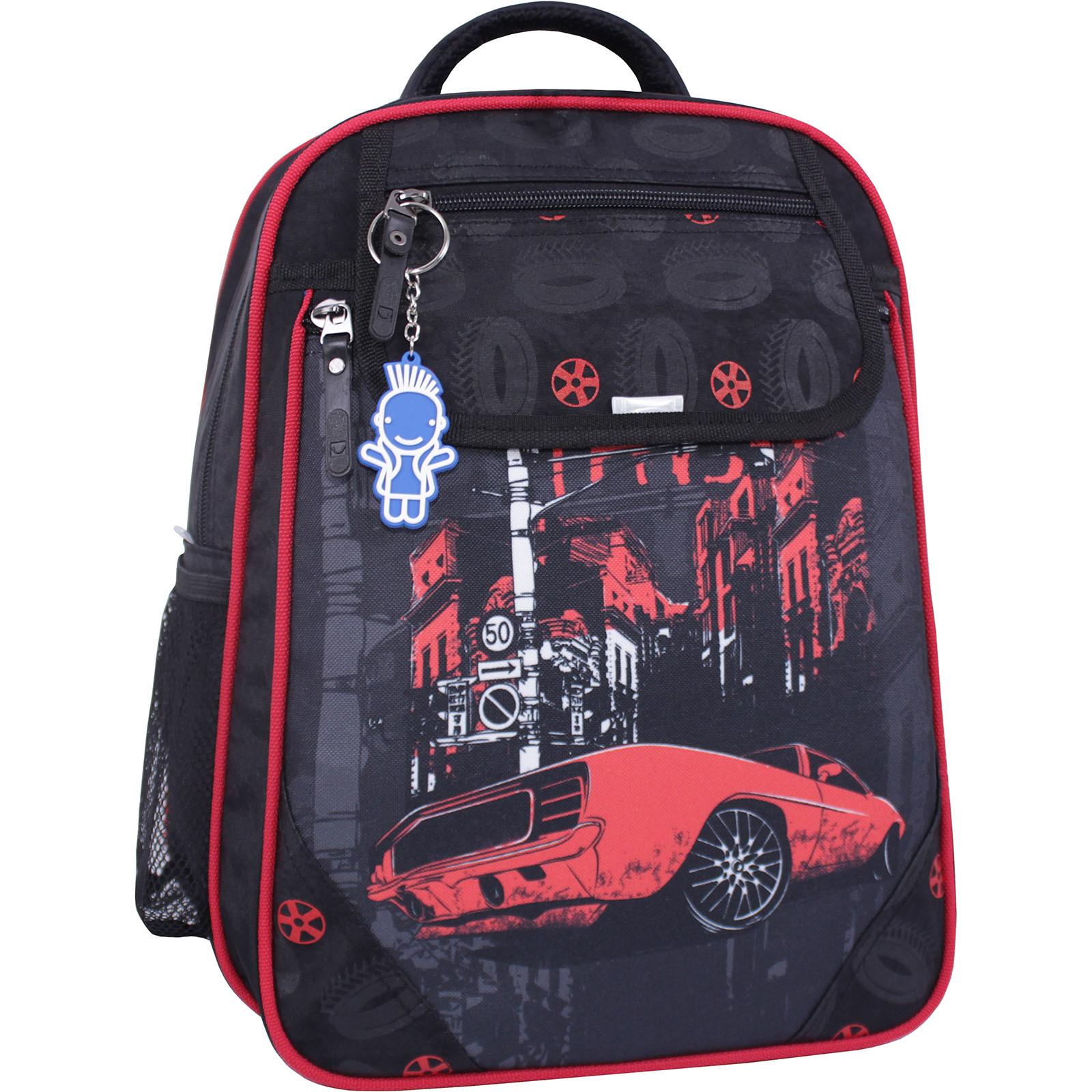 Школьные рюкзаки Рюкзак школьный Bagland Отличник 20 л. черный 568 (0058070) IMG_1205_суб.568_.JPG