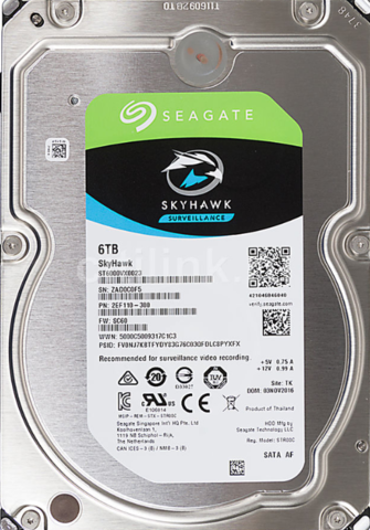 Жесткий диск Seagate 5900 SkyHawk [ST6000VX0023] 6 ТБ