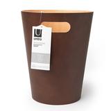 Корзина офисная для бумаг и мусора woodrow 7,5 л деревянная, эспрессо Umbra 082780-213 | Купить в Москве, СПб и с доставкой по всей России | Интернет магазин www.Kitchen-Devices.ru
