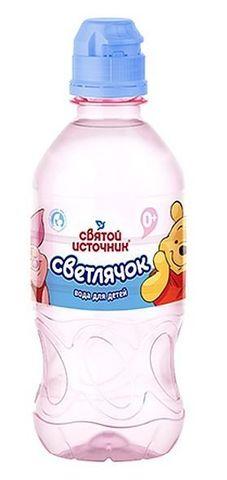 """Вода """"Святой источник"""" Светлячок питьевая детская негазированная (с 0 месяца) 0,33 л"""