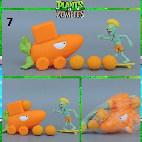 Растения против Зомби стреляющие игрушки серия 01 в пакетах