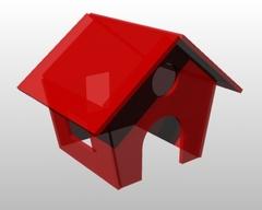 Пряничный домик (6 деталей)