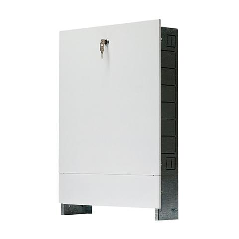 Шкаф распределительный внутренний STOUT - 760x404x195 мм (регулируемый, с накладной дверцей)