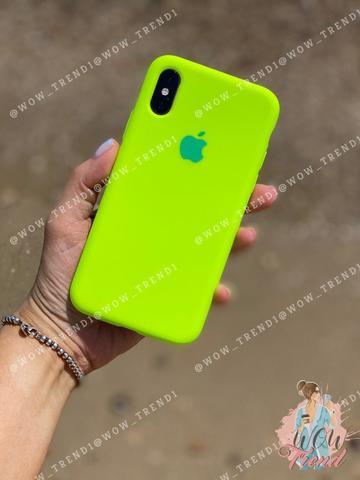 Чехол iPhone 8/7 Silicone Case Full /juicy green/
