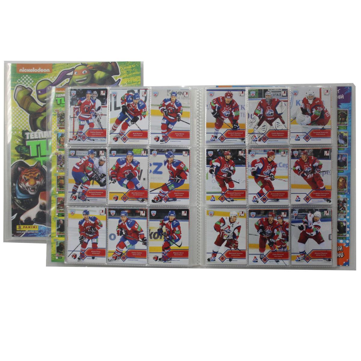 Спортивные карточки. Хоккей. Полный базовый сет 468 шт. + Подсерии 156 шт. SeReal Карточки КХЛ 2012-2013.