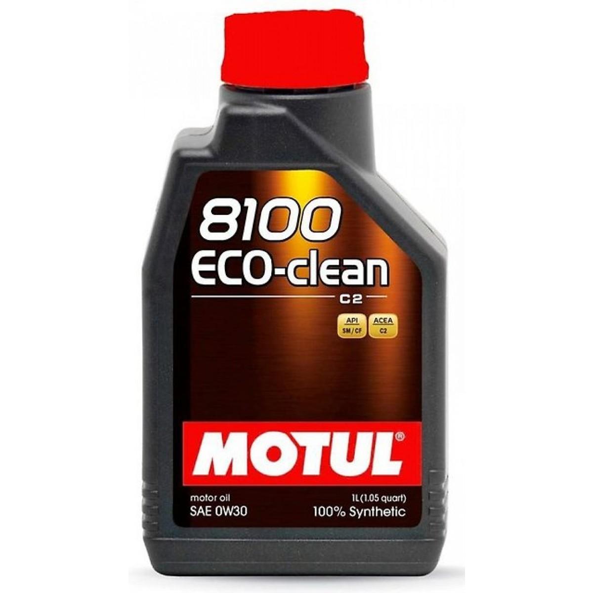 Motul 8100 Eco clean 5W30 SM/CF С2  Синтетическое моторное масло