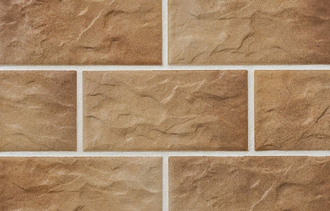 Stroeher - KS14 braun-bunt, Kerabig, glasiert, глазурованная, 302x148x12 - Клинкерная плитка для фасада и цоколя