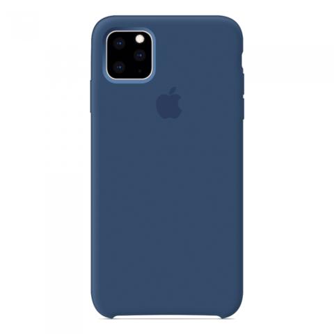 Чехол iPhone 11 Pro Max Silicone Case /blue cobalt/ кобальт 1:1
