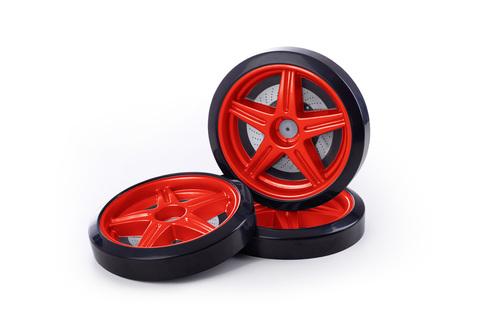 Объемные пластиковые колеса для серии LIGHT, Ауди А4 и Камаро