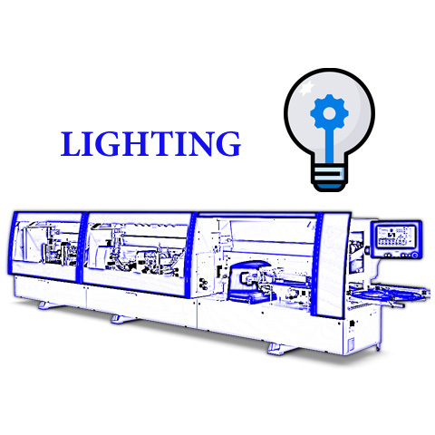 Освещение рабочей зоны оборудования