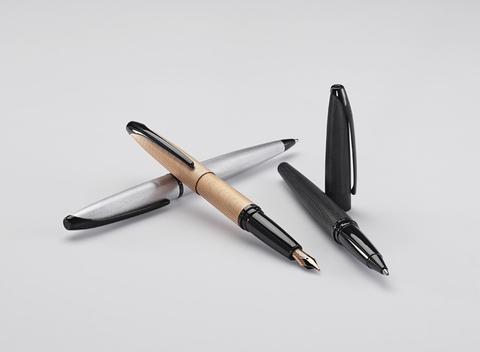 Cross ATX - Brushed Chrome, шариковая ручка123