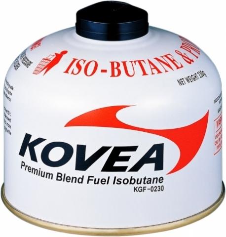 Картинка баллон Kovea для газовой горелки 230 (изобутан/пропан 70/30)