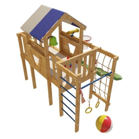 Детский деревянный игровой комплекс Винни
