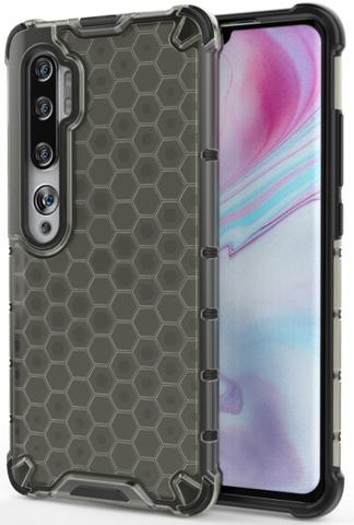 Чехол на телефон Xiaomi Mi Note 10 и 10 Pro от Caseport, серия Honey, темный корпус