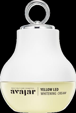 AVAJAR   Отбеливающий крем с аппликатором Yellow LED Whitening Cream (Special PKG)