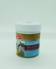 Excel Multi Vitamin Small Breed 8in1 мультивитамины для мелких пород 70таб
