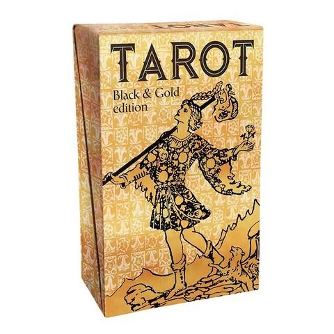 Карты Таро Черное на Золоте