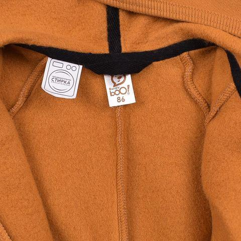 Комбинезон с капюшоном и боковыми карманами