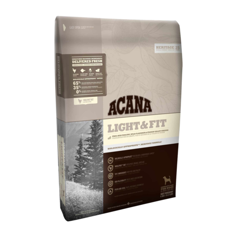 Acana Heritage Light & Fit Сухой корм для собак Облегченный
