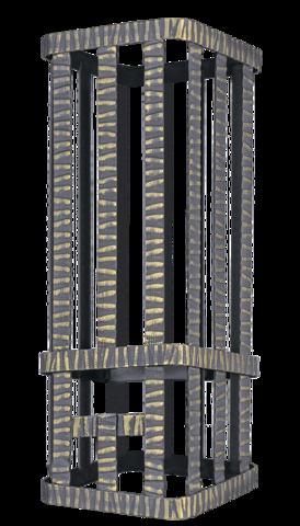 Сетка на трубу для Ураган 300х300х800 Гефест ЗК 35/40/45 под шибер