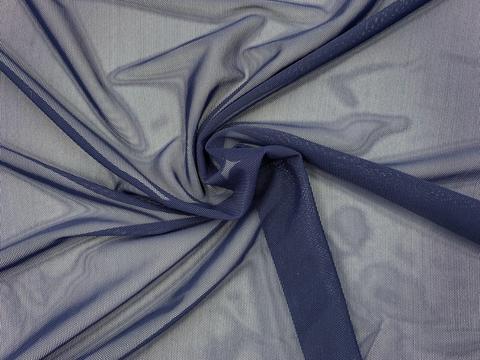 Сетка эластичная темно-синяя