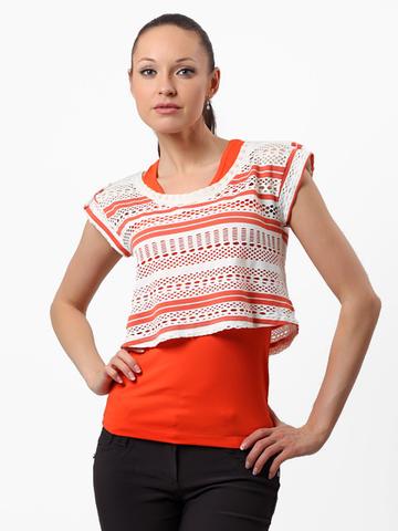 008158 комплект женский, оранжевый