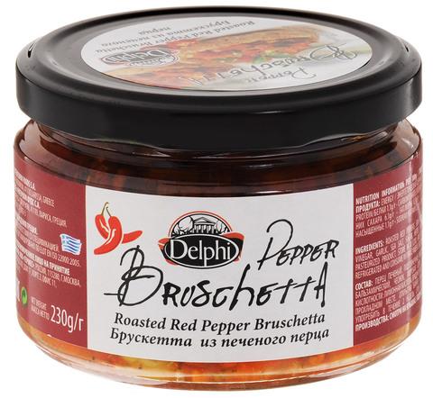 Брускетта из печеного перца Delphi 230 гр