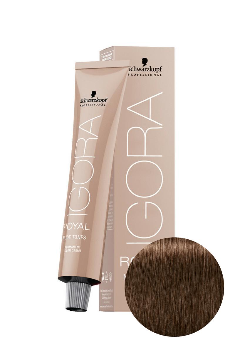 Краситель для волос Igora Royal Nude Tones Collection 6-46 Schwarzkopf Professional, 60 мл