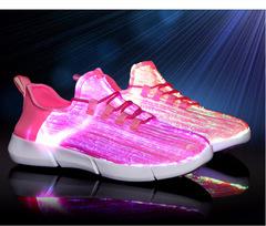 Светящиеся LED кроссовки вся поверхность (оптическое волокно) Новинка!