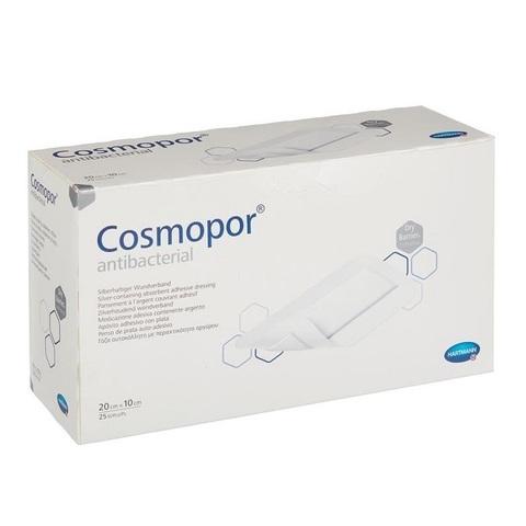 Космопор Антибактериал - Cosmopor Antibacterial, антибактериальная повязка, 10х20 см