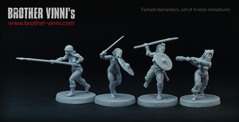 Female Berserkers