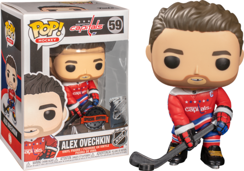 Фигурка Funko Pop! Sports: NHL - Alex Ovechkin (Excl. to Fanatics)