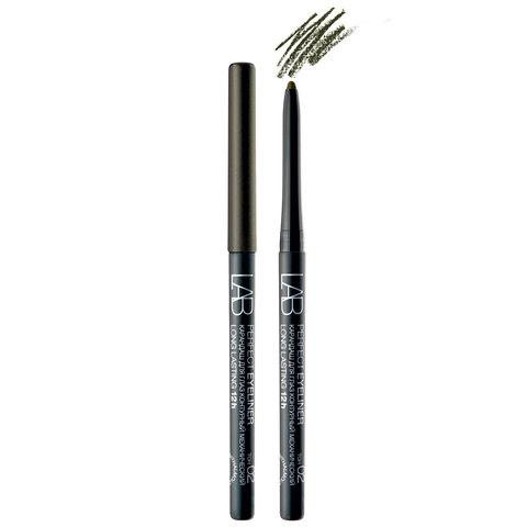 Белита Lab colour Карандаш для глаз Perfect Eyeliner Long Lasting 12h контурный механический тон 02 (темно-коричневый с легким шиммером)