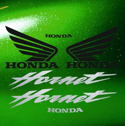 Набор виниловых наклеек на мотоцикл HONDA CB600F HORNET 2006