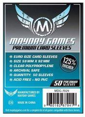 Протекторы для настольных игр Mayday Premium Euro Card (59x92) - 50 штук