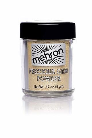 MEHRON Сияющие пигменты Celebré Precious Gems, Citrine (Цитрин), 5 г