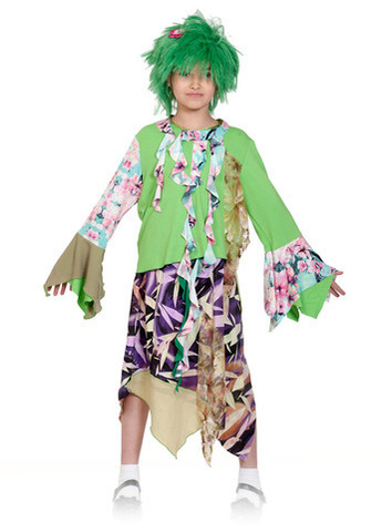 Карнавальный костюм Кикимора детский