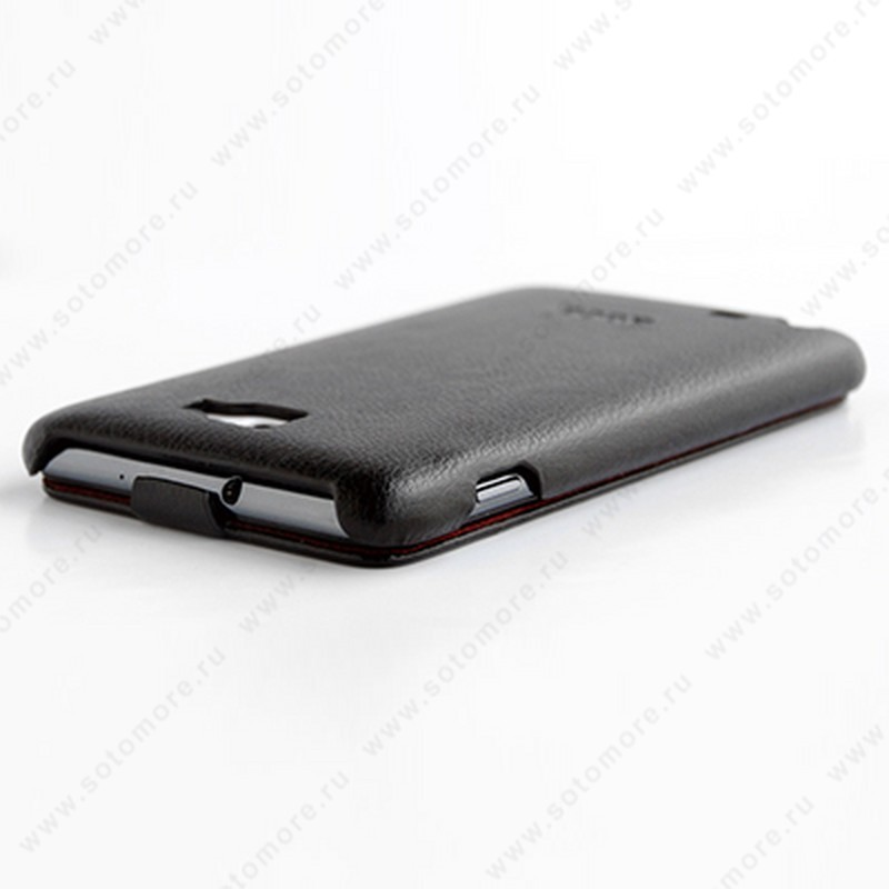 Чехол-флип HOCO для Samsung Galaxy Note N7000 - HOCO Classic Leather Case Black