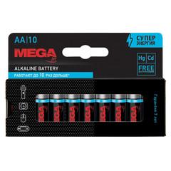 Батарейки Promega jet пальчиковые AA LR6 (10 штук в упаковке)
