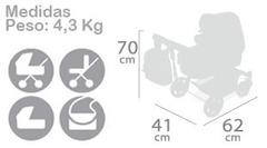 DeCuevas Коляска-трансформер для кукол  3 в 1 серии