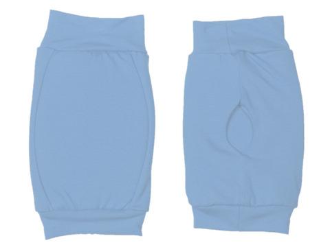 Наколенник для гимнастики и танцев ИНДИГО, р.L, цвет голубой  (материал: трикотаж, поролон) :(г):