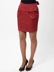 0556-2 юбка красная