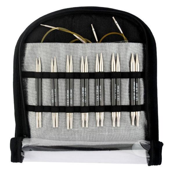 KnitPro Набор укороченных спиц Karbonz 41618
