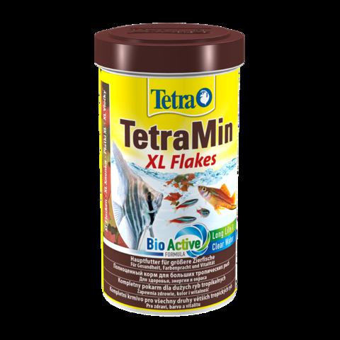 TetraMin XL Flakes Сухой корм для крупных декоративных рыб крупные хлопья