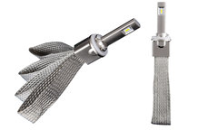 Комплект LED ламп головного света H27  (гибкий кулер) ULTRA BRIGHT 5500k VIPER