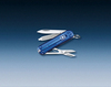 Нож-брелок Victorinox Classic, 58 мм, 7 функций, полупрозрачный синий