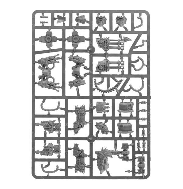 Start Collecting! Chaos Space Marines. Литник