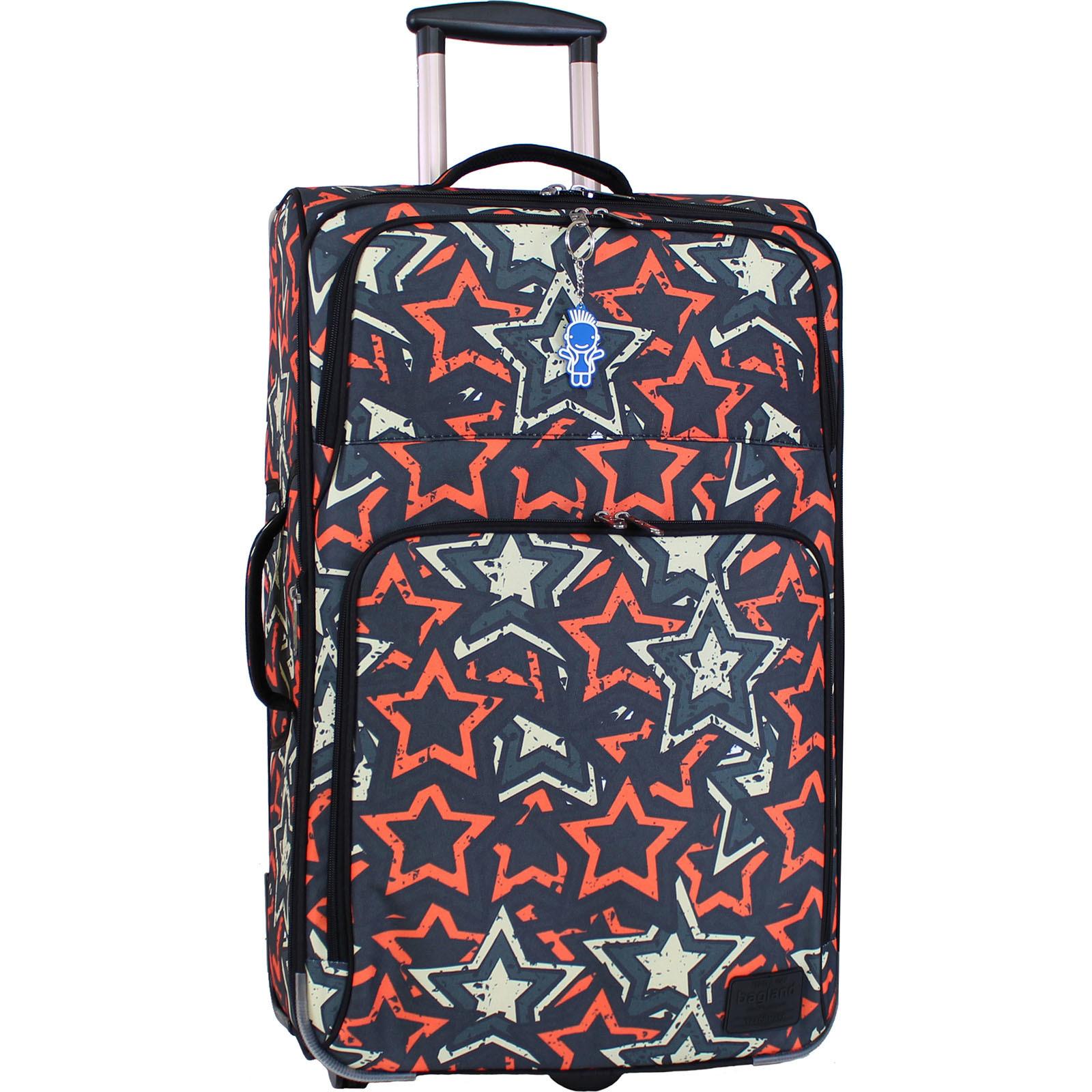 Дорожные чемоданы Чемодан Bagland Леон большой дизайн 70 л. сублімація 185 (0037666274) IMG_9793.JPG