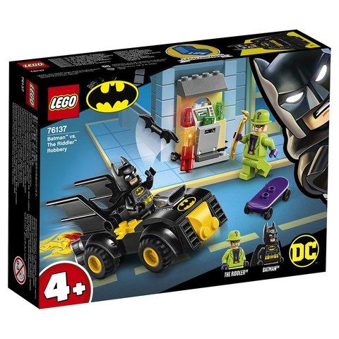 LEGO Super Heroes: Бэтмен и ограбление Загадочника 76137 — Batman vs. The Riddler Robbery — Лего Супергерои ДиСи